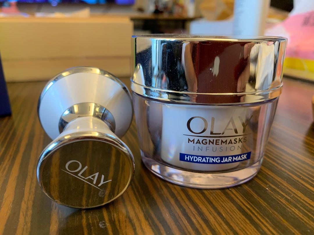 Olay 微磁導入面膜+導入儀