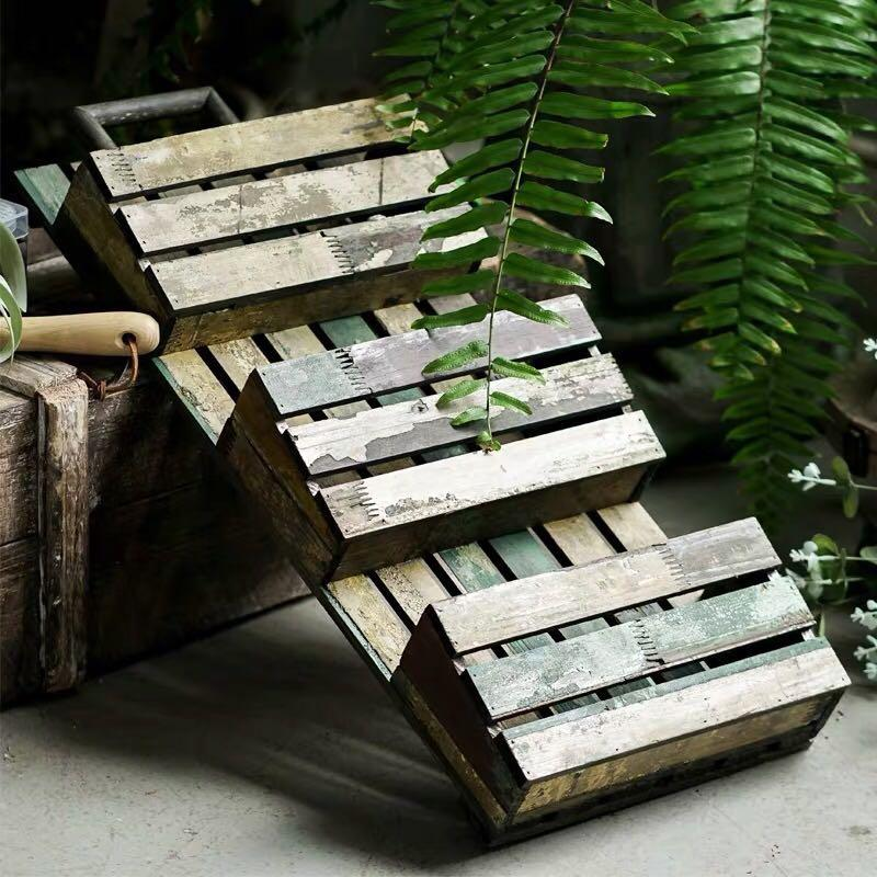 planter plant rack garden tools shelves barn style