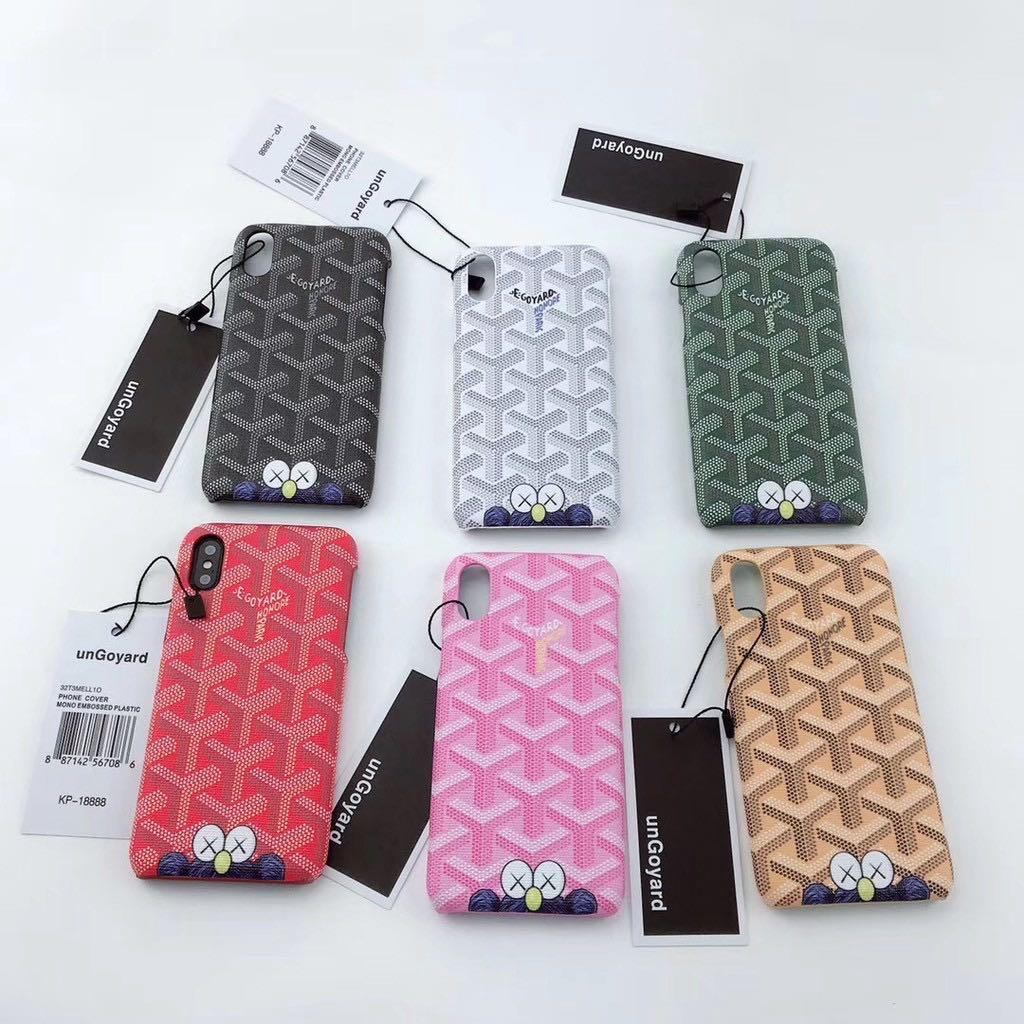 [P.O] Kaws x Goyard Iphone Cover