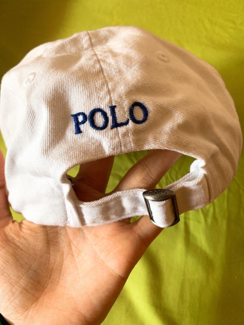 Polo 白色 Logo Cap 帽