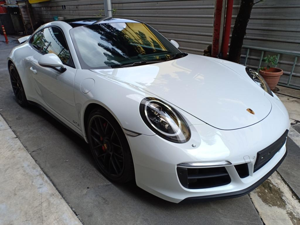 PORSCHE 911 CARRERA 3.0 GTS S/EXHAUST S/STEERING S/CHRONO BOSE AUDIO SINGLE NUT RIMS (A) OFFER UNREG 2017