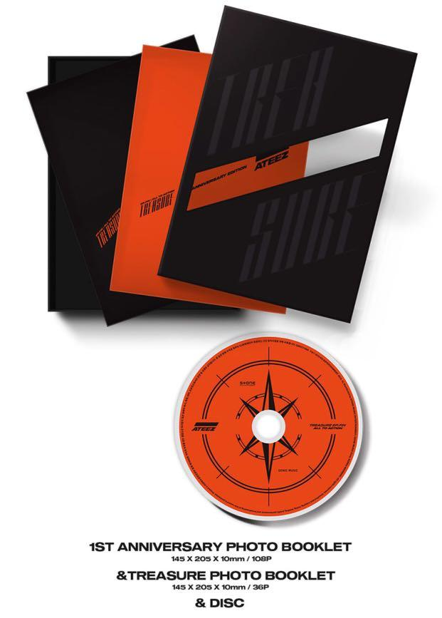 [PREORDER] ATEEZ 1st Album - TREASURE EP.FIN : ALL TO ACTION (1st Anniversary Edition Ver.)