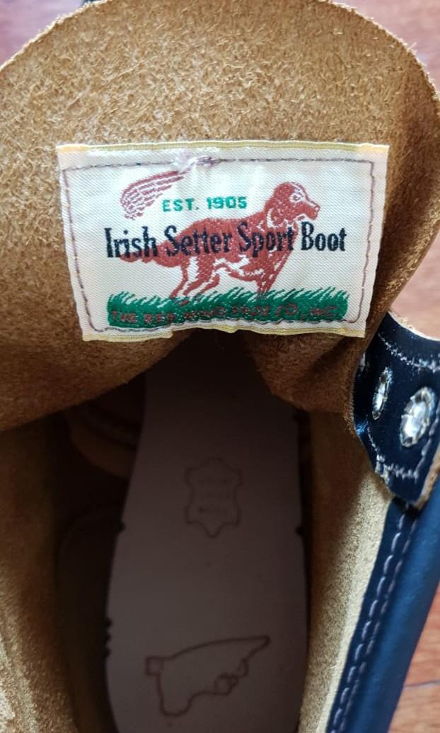 RED WING 9874 IRISH SETTER MOC TOE BOOT
