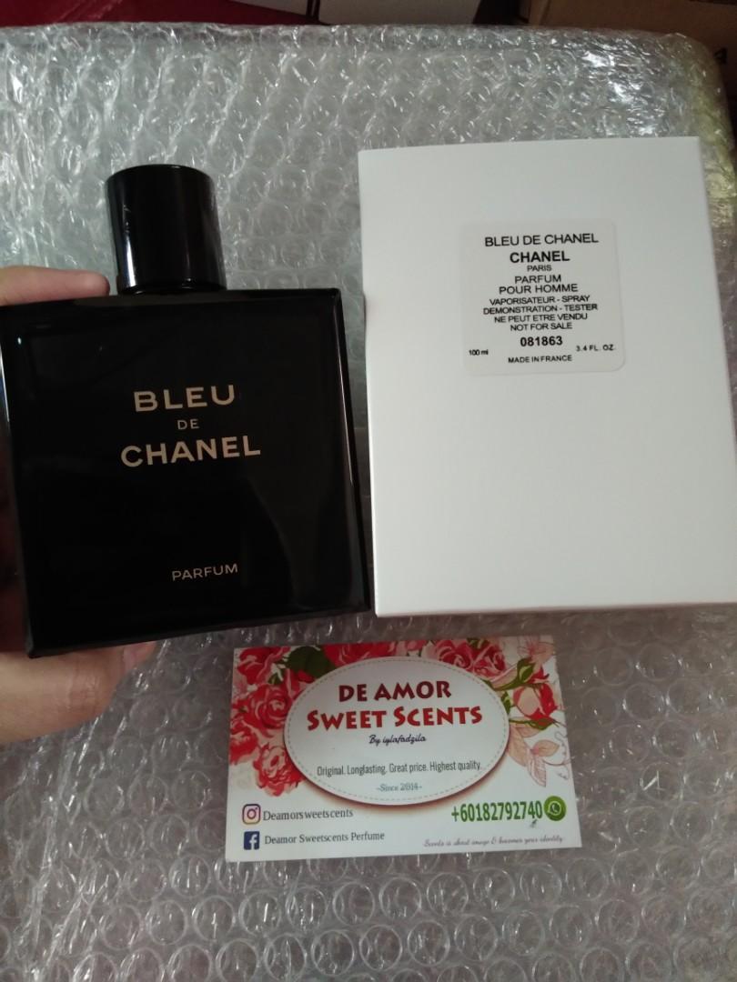 SALE Bleu De Chanel PARFUM TESTER