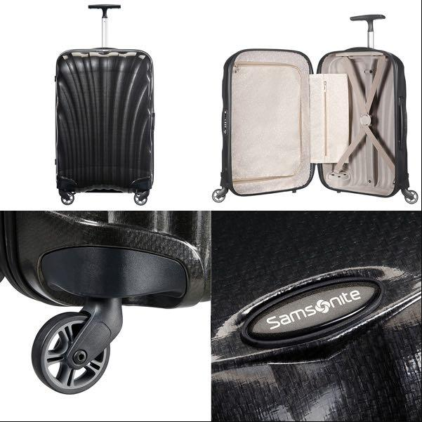 Samsonite universal wheel rod box light suitcase 20 inch for travel-intl