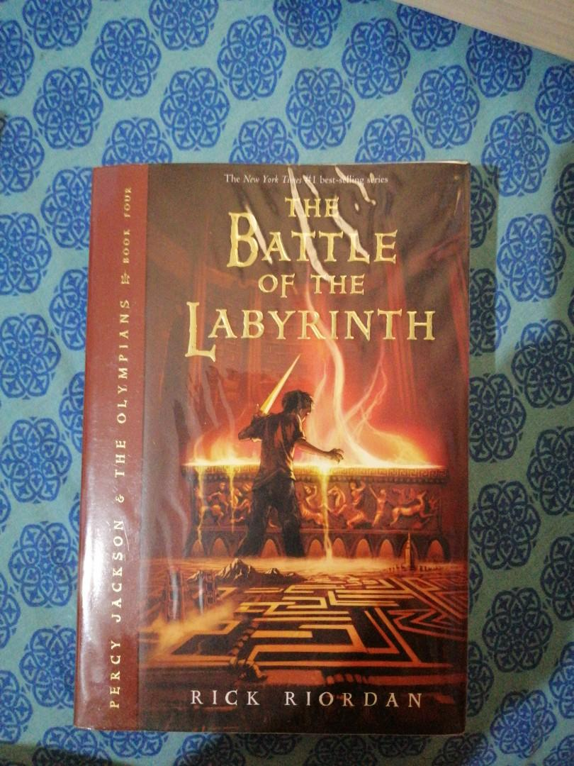 (Secondhand) Percy Jackson Series: The Battle of the Labyrinth by Rick Riordan