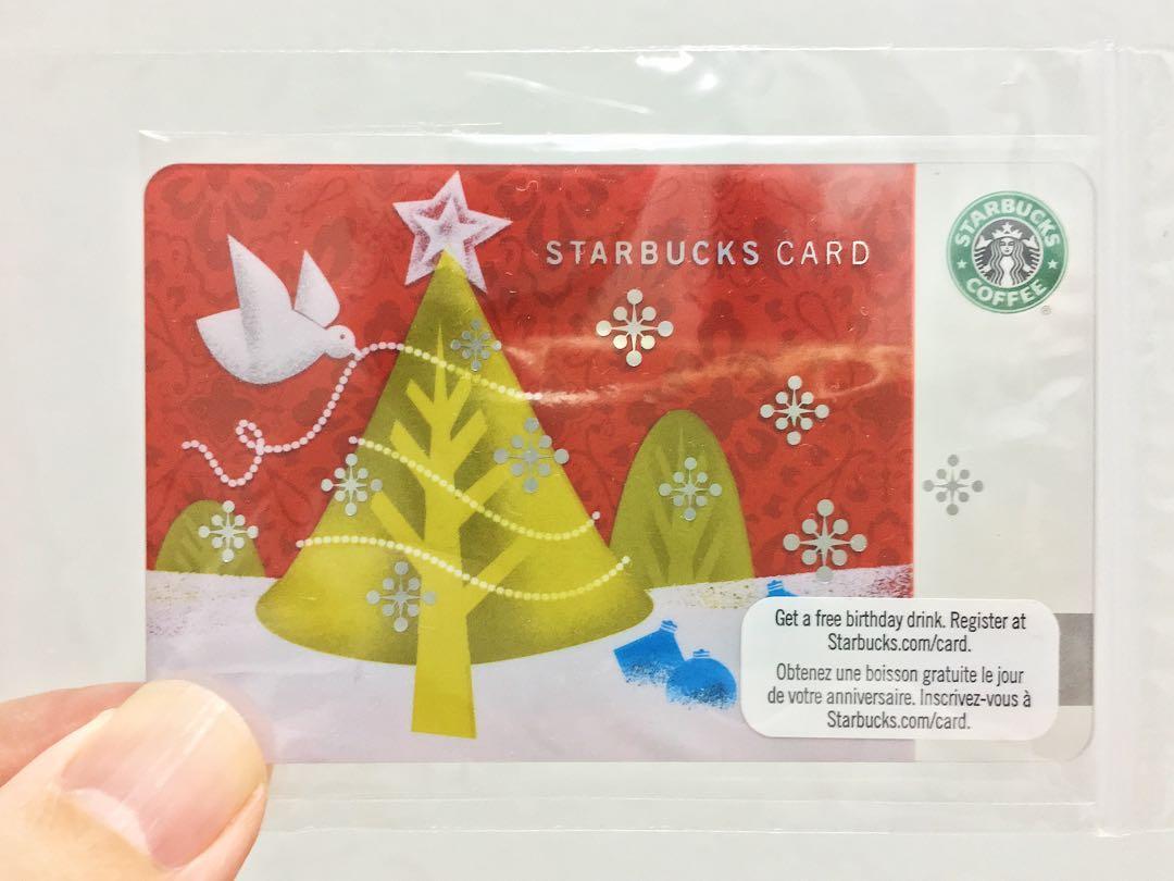 Starbucks 'Christmas' Old Logo Gift Card (2010)