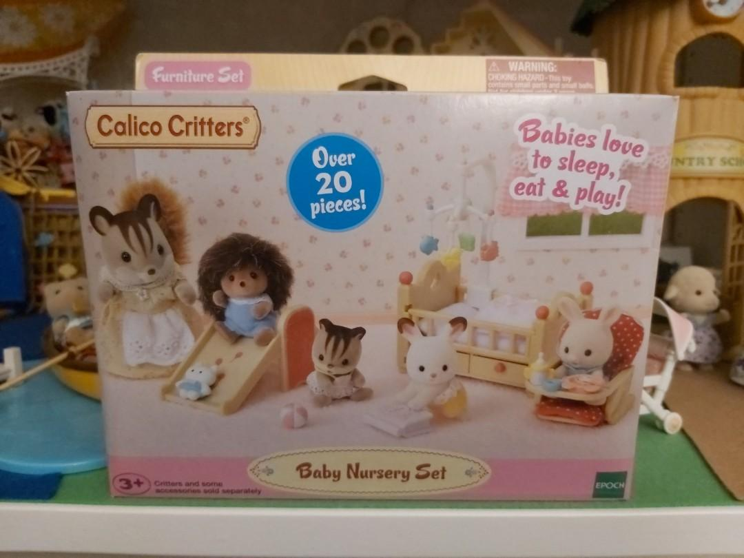 Calico Critters Baby Nursery Set Over