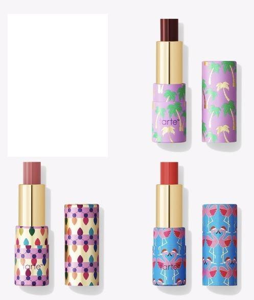 Tarte Rainforest of the Sea Quench Squad Hydrating Lip Set 3 x Glosses