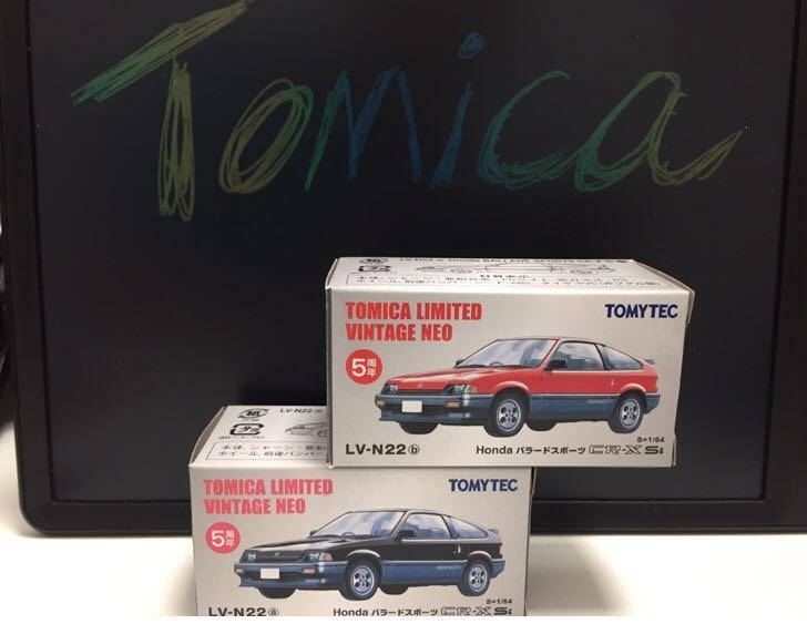 Tomica Ltd Vintage - TLV -N22 (50週年版)CRX 2架
