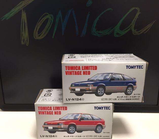 Tomica Ltd Vintage /TLV - LV-N124 CRX 2架