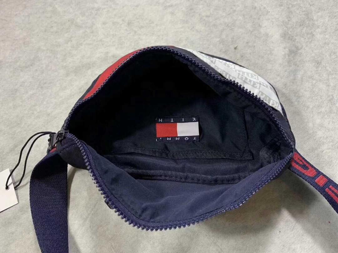 [TOP] Kith x Tommy Hilfiger waist bag new sling bag 2019(feedback customer) 💎
