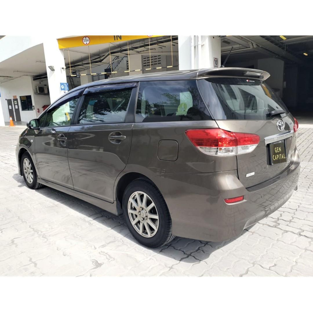 Toyota Wish - Lowest rental rates, with the friendliest service!