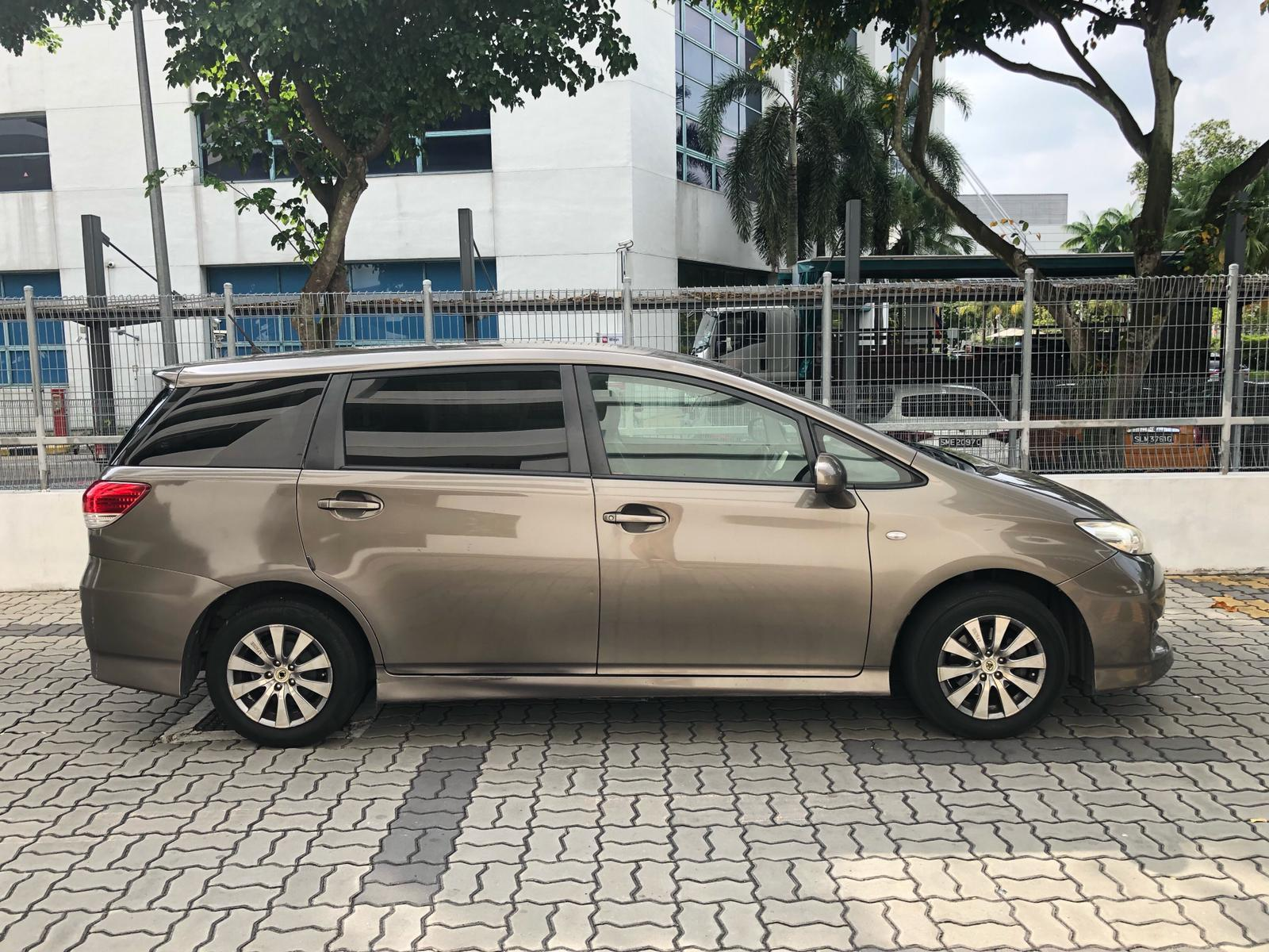 TOYOTA WISH*GOOD CONDITION&SAVE PETROL* mpv 7seater Altis Car AxioCamry HondaStream Civic Cars Hyundai Avante Grab Rental Gojek Or Personal Use Low price and Cheap