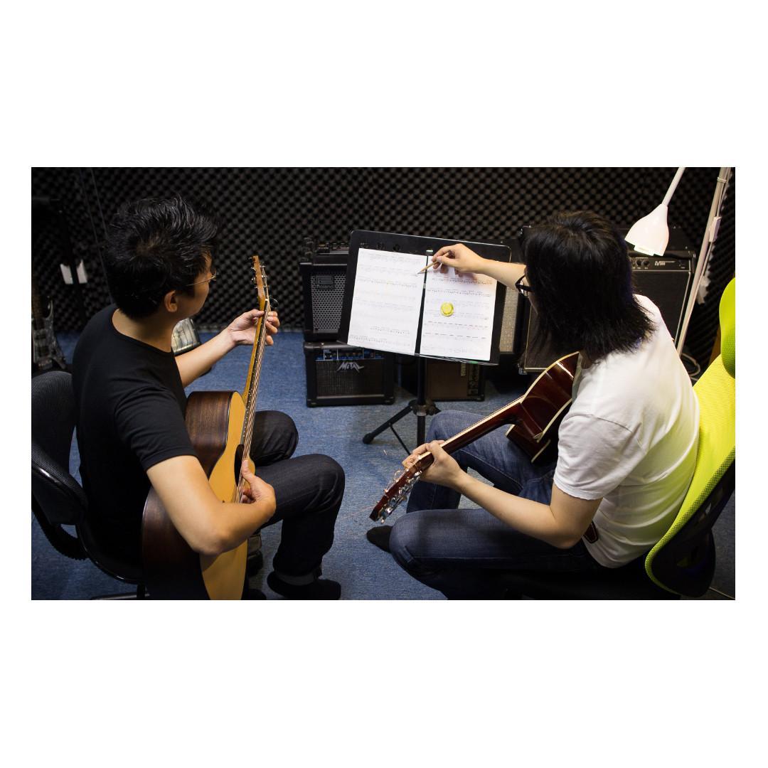專業教授電結他/木結他/ukulele/樂理課程/現正招生!!報名從速!!