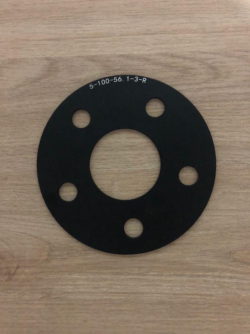 Wheel spacers (3mm) 5 x 100