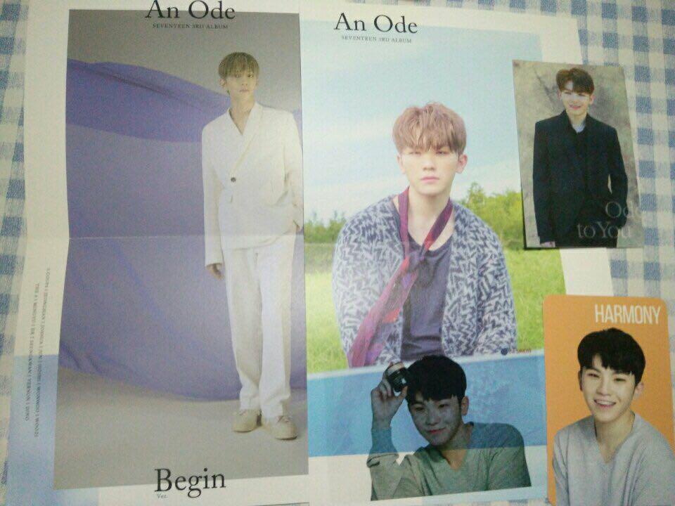 【WTS】  #SEVENTEEN photocard photobook miniposter sticker lenticular card transparentcard polaroid👌🏻