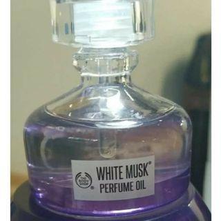 Parfum white musk oil the body shop