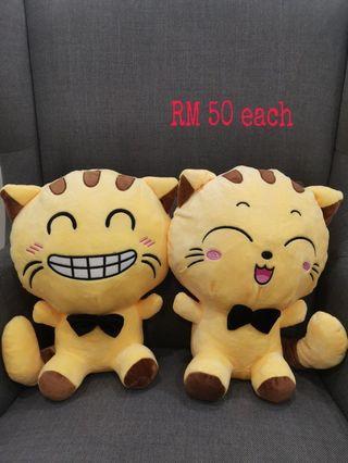 Smiley kitten plush toy
