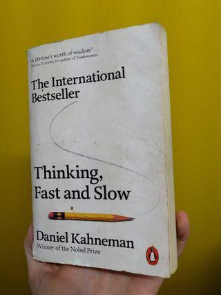 Thinking Fasr and Slow - Daniel Kahneman