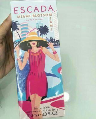 NEW!!!  Escada Miami Blossom Limited Edition 100ML EDT