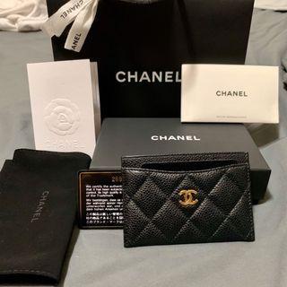 Chanel 卡夾 專櫃正品 / 卡包 零錢包 短夾