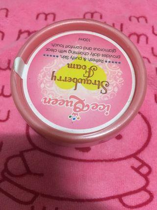 Ice Queen 冰淇淋氨基酸美容皂 草莓奶昔 洗面霜