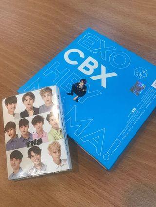 EXO 便條紙 跟 CD