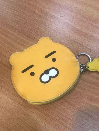 黃色小熊 錢包