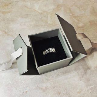 S925銀·蕾絲造型戒指