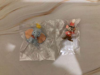 迪士尼小飛象小擺飾