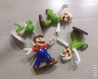 Super Mario Toy bundle for boys   超級瑪利歐男孩玩具包