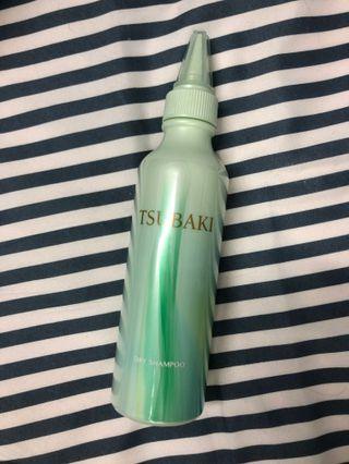 思波綺 TSUBAKI舒涼極淨乾洗髮露 小綠瓶