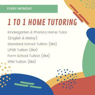 1 to 1 Home Tutoring