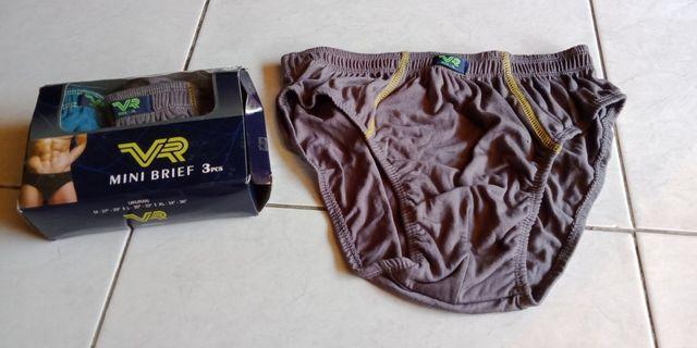 Celana dalam pria baru XL adem isi 3