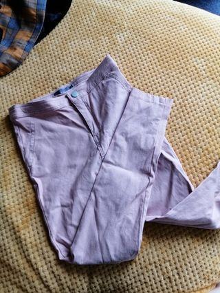 Nude pinkish pants