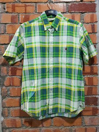 Bape button down shirt