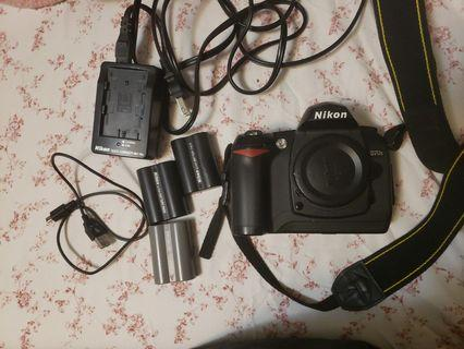 Nikon D70s camera body and accesories. (Lens needed)