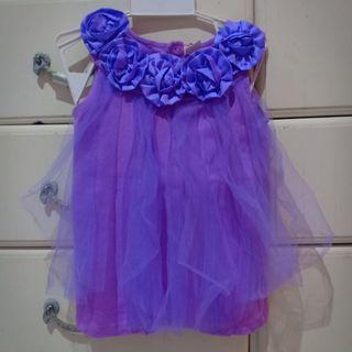 Dress purple cantiik