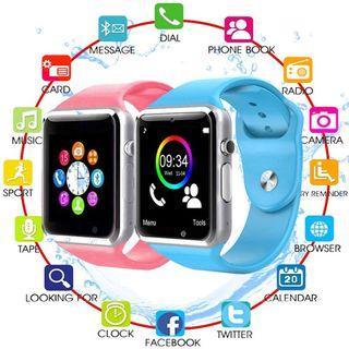 A1 Bluetooth GSM Smart Watch Steel Elegant Wristband Call SMS GPRS Camera TF Card Music Andriod Sync Jam Pintar