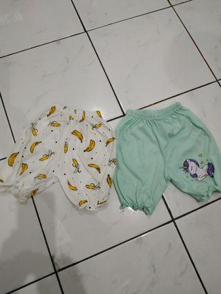 Celana baby merk jobel ambil 2 pcs semua, baru hanya cuci sekali
