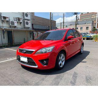 【FB搜尋桃園阿承】福特 超人氣FOCUS 2009年 2.0 紅色 二手車 中古車