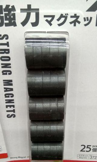 Magnets 25pcs per pack extremely strong
