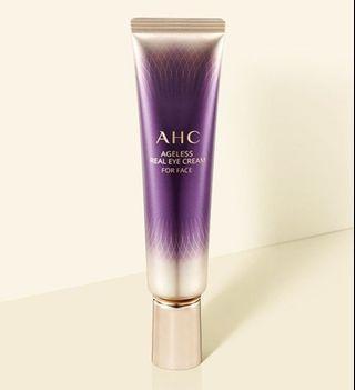 韓國 AHC Ageless Real Eye Cream