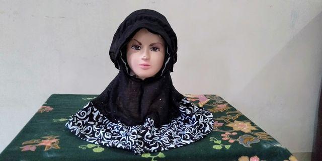 Jilbab anak usia 2 tahun New 10K