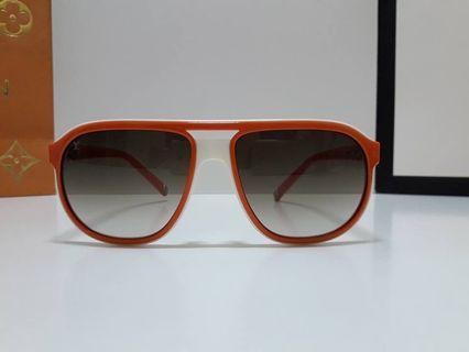 LV Z0525E Audace LOUIS VUITTON 太陽眼鏡飛行機師墨鏡 義大利製厚實板材gucci
