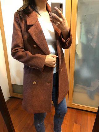 西裝外套 有厚度加質感金布釦 #五折清衣櫃