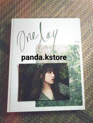 [UNSEALED] IZ*ONE IZONE - ONE DAY PHOTOBOOK WITH YENA POSTCARD