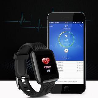 ID116 Smart Watch Sport Band Bluetooth Wristband Monitor