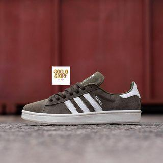 ADIDAS CAMPUS GREY GREEN ORIGINAL